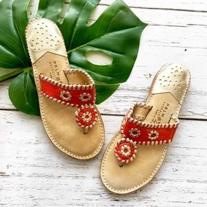 Palm Beach Coral Sandals Luxe Crafted